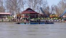 الداخلية العراقية: وفاة نحو 45 شخصا إثر غرق عبّارة في نهر دجلة بالموصل