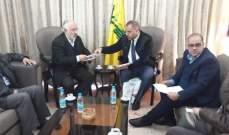 حب الله التقى مدير عام المؤسسة الفلسطينية لحقوق الإنسان