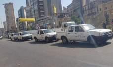 حرس مدينة بيروت كثّف دورياته السيارة والراجلة على مدار الـ 24 ساعة