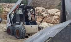 النشرة: ازالة المخالفات على شاطى ميناء عدلون