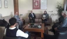 دينا المولى استقبلت نائب رئيس مجلس النواب العراقي