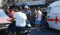 اصابة مواطن جراء حادث صدم في منطقة جبل البداوي