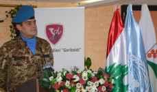 رئيس بلدية كفرا منح الجنرال آبانيارا شهادة المواطنة الفخرية