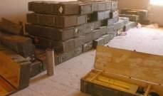 سانا:الجيش السوري عثر على مستودعات أسلحة من مخلفات المسلحين في معبر نصيب