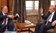 بري التقى دل كول: مستعدون لتثبيت الحدود البحرية والمنطقة الاقتصادية