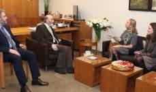 جعجع بحث مع السفيرة السويسرية بآخر التطورات السياسية محليا وإقليميا