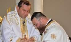 أبرشية طرابلس الكاثوليكية تحتفل بسيامة الشماس يوحنا بطرس كاهنا