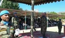 طلاب من جامعة سيدة اللوزيرة زاروا الكتيبة الهندية باليونفيل