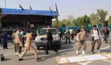 مقتل 20 عنصرا من الحرس الثوري بتفجير انتحاري بمدينة زهدان
