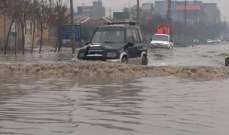 سقوط عدد الضحايا جراء السيول والثلوج في إيران