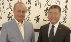 وهاب: متضامنون مع الصين بوجه العربدة الأميركية ووضع المنطقة لا يبشر بالخير