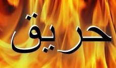 إخماد حريق شب في وسط بلدة الصرفند بالقرب من المنازل