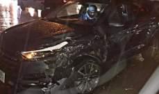 8 جرحى في حادث سير على طريق عام جعيتا كسروان