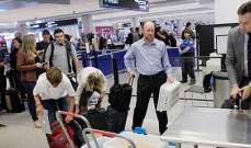 تباطؤ حركة الرحلات بمطار رونالد ريغن بواشنطن اثر انقطاع التيار الكهربائي