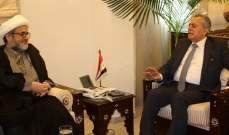تجمع العلماء زار سفير سوريا: لتفعيل العلاقات الثنائية واعادة الوضع إلى طبيعته