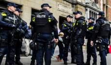 شرطة هولندا أعلنت القبض على مشتبه به في حادثة طعن شخصين بأمستردام