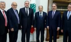 الرئيس عون استقبل رئيس جمعية منتدى الشرق للتعددية ورئيس الجامعة اللبنانية