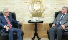 العميد خطار تباحث مع مستشار الأمن لدى سفارة روسيا في لبنان بسبل التنسيق والتعاون
