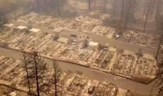 السلطات الأميركية تعلن احتواء حرائق كاليفورنيا بشكل شبه تام