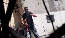 النشرة: إخماد حريق داخل منور في أحد الأبنية بصيدا