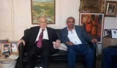 أسامة سعد يلتقي سليم الحص وعبد الرحيم مراد