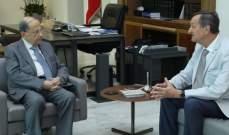 الرئيس عون التقى نائبا فرنسيا وعرض معه العلاقات بين البلدين