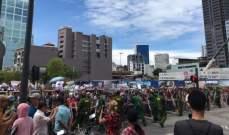 الشرطة في فيتنام اعتقلت 12 محتجا ومنعت مظاهرات ضد مناطق إقتصادية جديدة