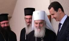 الأسد: ما تعرض له البلدان من محاولات تدخل خارجية يشكل قاعدة صلبة لبناء حوار
