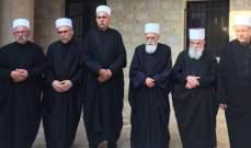 الشيخ حسن جال على مشايخ ومرجعيات دينية وتلقى اتصالات تهنئة بالأضحى