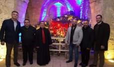 بلدة سمار جبيل البترونية تفتتح مغارة الميلاد برعاية المطران خيرالله