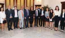 سامي الجميل بحث التطوارت الأخيرة في لبنان مع وفد أوروبي