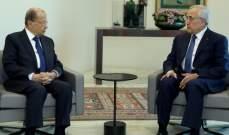الرئيس عون استقبل سليمان