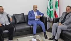 حمود عرض مع العقيد مشموشي الأوضاع الأمنية في صيدا ومخيماتها