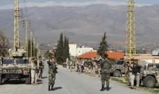 النشرة: إصابة جندي بالجيش بانفجارعبوة كان يعمل على تفكيكها بجرود عرسال