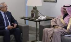 سليمان استقبل اليعقوب: لصيانة العلاقة مع السعودية وتحصينها