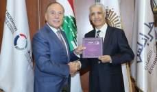 دبوسي ييحث مع سفير الجزائر بلبنان سبل توثيق العلاقات الإقتصادية بين البلدين