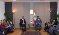 اللواء عثمان التقى وفدا من الإنتربول بهدف تعزيز التعاون