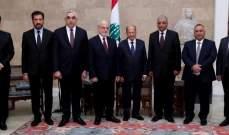 الرئيس عون:مرتاحون لفتح معبر نصيب ونتمنى أن يستعيد معبر البوكمال حركته الطبيعية