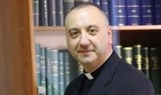 الأب جلخ: المطلوب من المسيحيين أن يبقوا في الشرق ولا يمكننا إلا أن نعيش معا