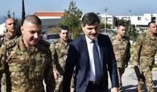 القوات الجوية زارت الياس وراق لتهنئته برئاسة جامعة البلمند