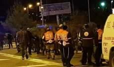 وسائل إعلام إسرائيلية: 4 جرحى بحادث إطلاق نار شمال إسرائيل