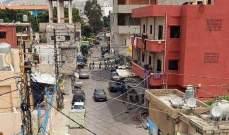"""النشرة: """"فتح"""" بدأت بسحب عناصرها تدريجيا من الشوارع بعين الحلوة"""