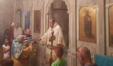منصور ترأس قداس عيد انتقال العذراء في كنيسة السيدة في جبرائيل