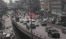 التحكم المروري: تصادم بين مركبتين على جسر الدورة والاضرار مادية