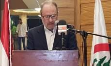 كيروز:نتطلع لتجديد تمثيلنا لبشري والجبة ولتوسيع تمثيل القوات على مستوى لبنان