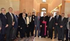 وديع الخازن التقى السفير البابوي: تفجيرات سيريلانكا كان لها الاثر البالغ على بهجة الأعياد