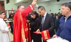 قداس احتفالي بكنيسة الإنتقال بمزرعة الضهر تخليدا لذكرى ضحايا البلدة