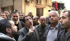 الحاج حسن جال على مبنى آيل للسقوط بحي السلم وطلب من خير متابعة الموضوع