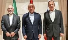 وزراء خارجية روسيا وتركيا وإيران سيبحثون الوضع في سوريا يوم السبت بموسكو
