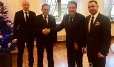 تويني يختتم زيارته لبولونيا بلقاء الوزير كامينسكي